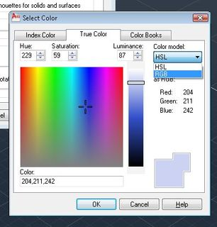 True Color from HSL to RGB