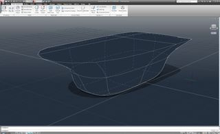 Mesh with creased edges