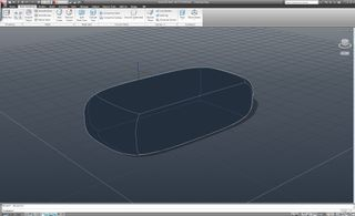 Mesh refined converted into solid