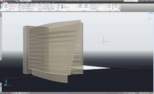 my design in AutoCAD